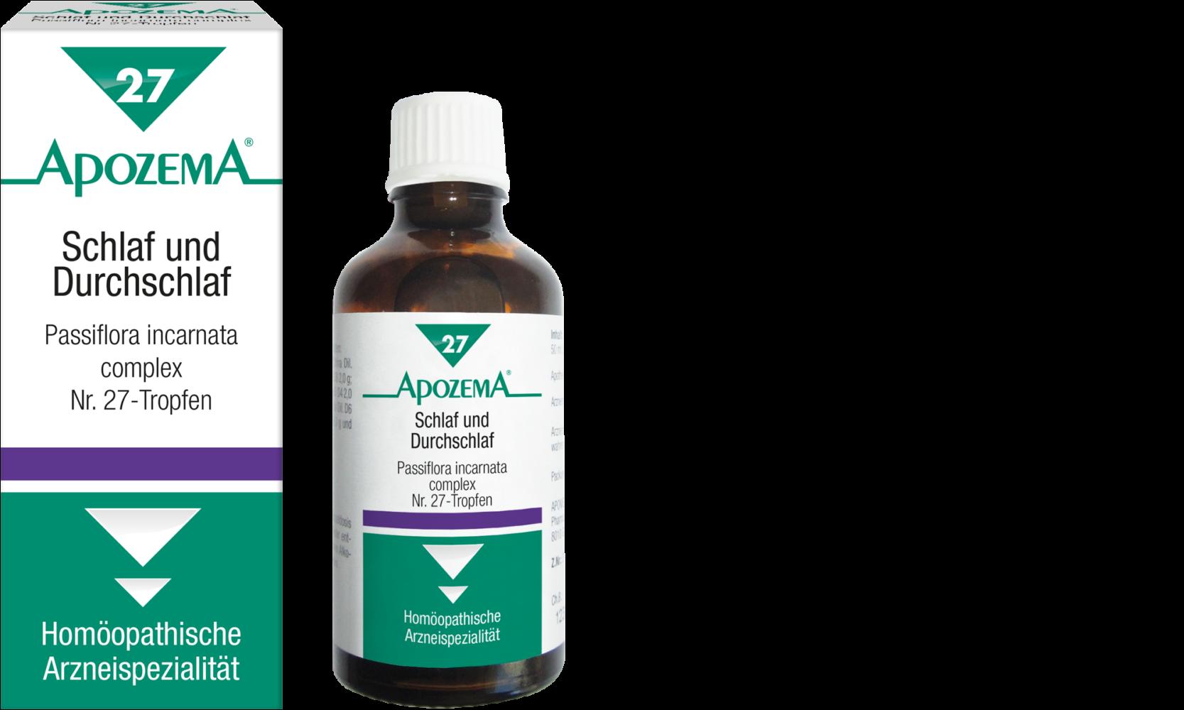 Apozema® Nr. 27 Schlaf- und Durchschlaf-Tropfen