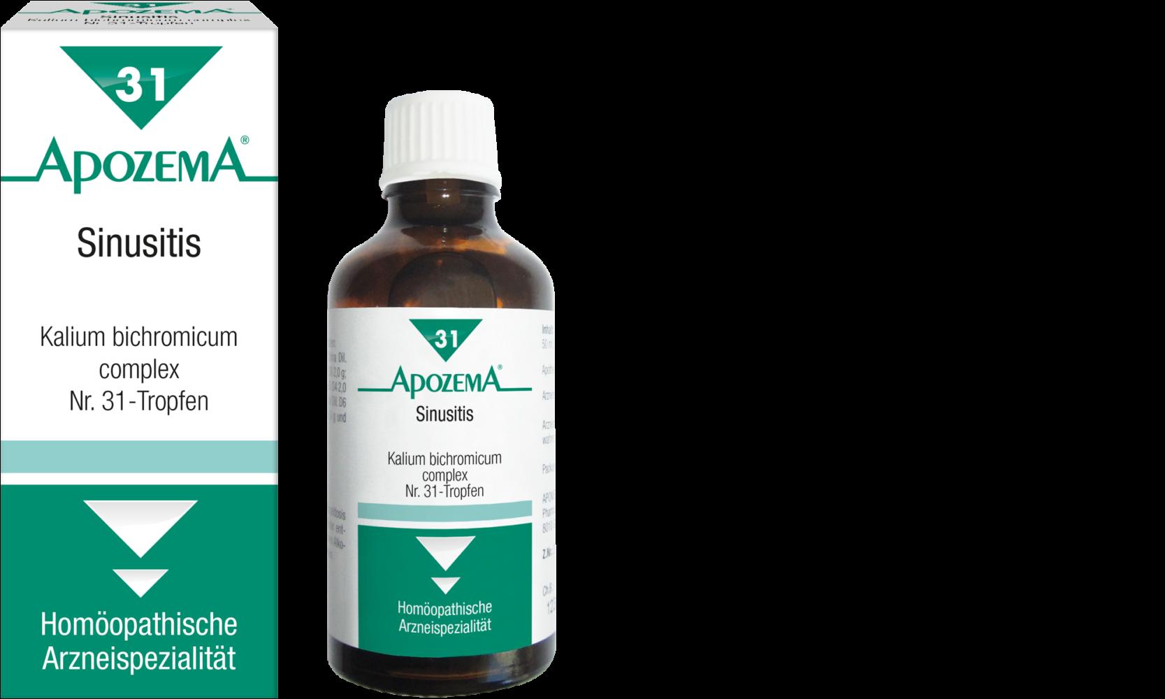 Apozema® Nr. 31 Sinusitis-Tropfen