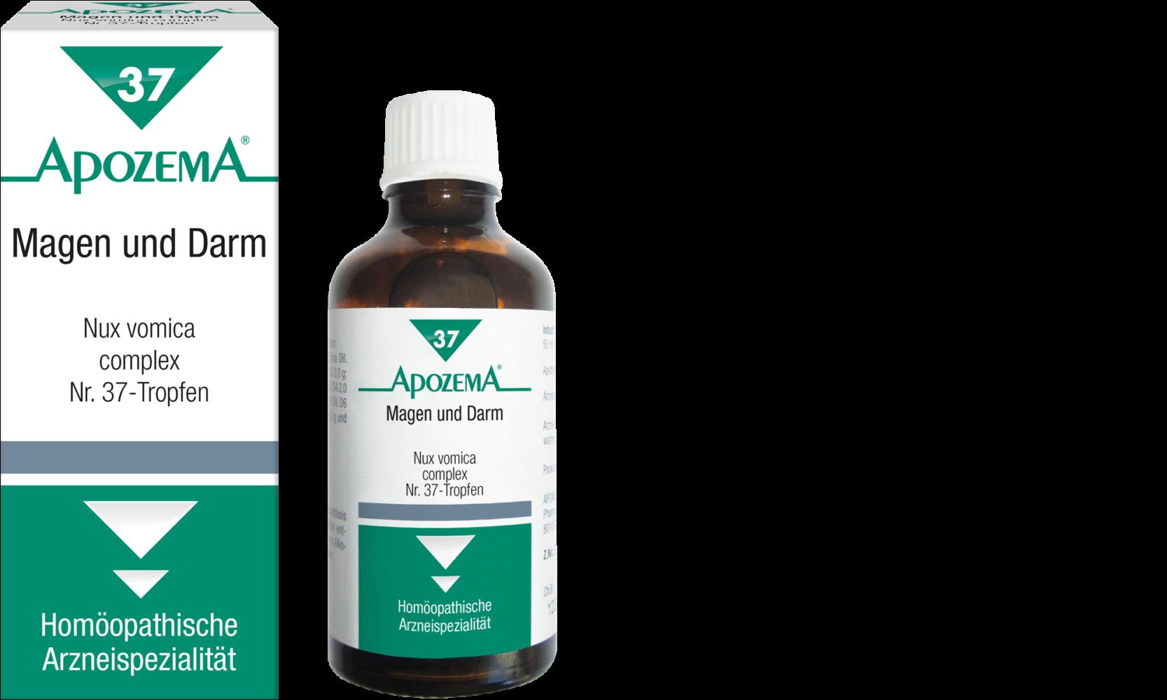 Apozema® Nr. 37 Magen- und Darm-Tropfen