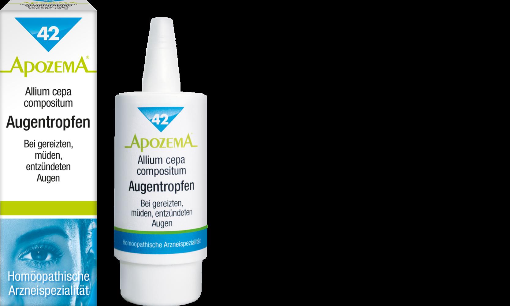 Apozema® Nr. 42 Allium cepa compositum Augentropfen