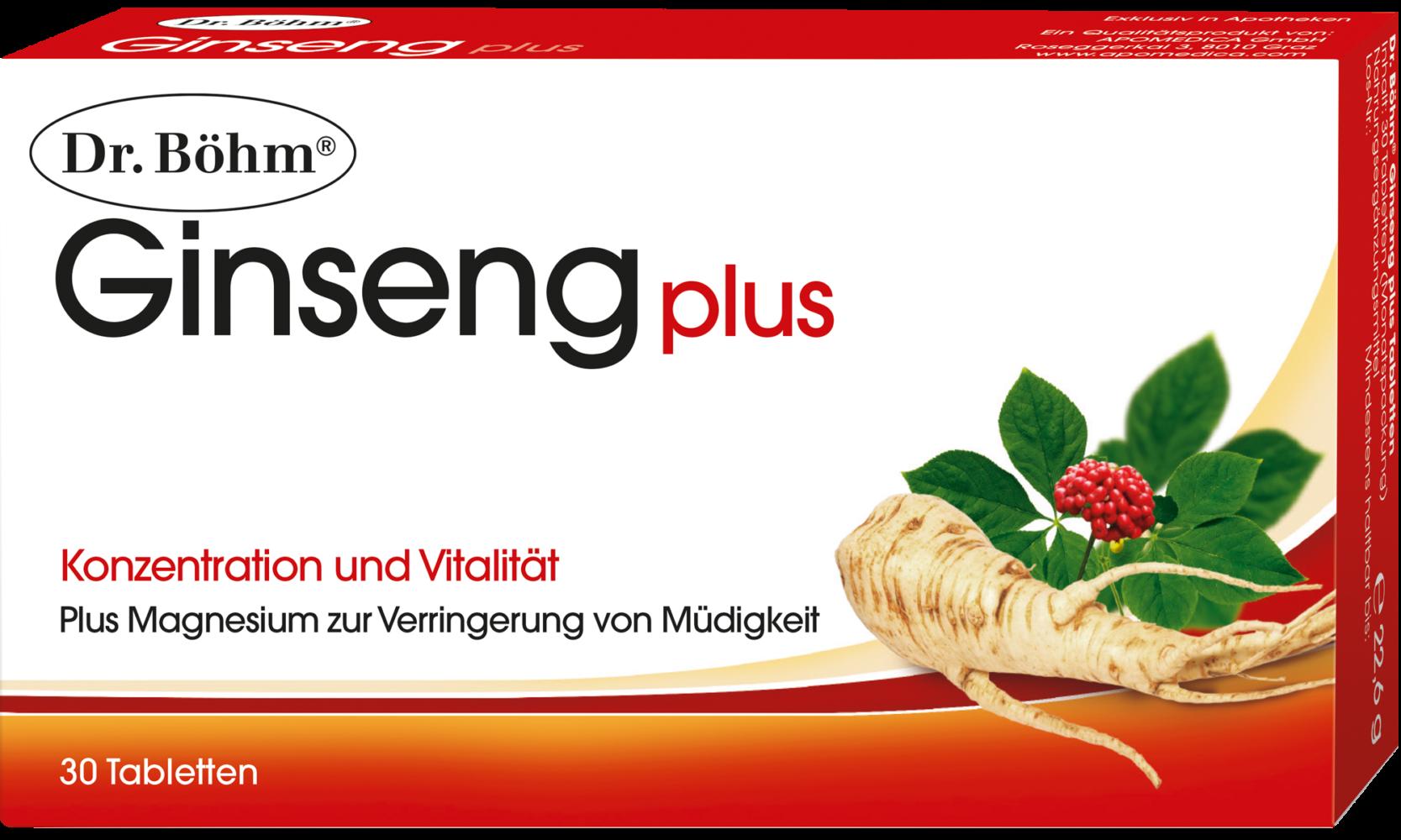 Dr. Böhm® Ginseng plus Tabletten