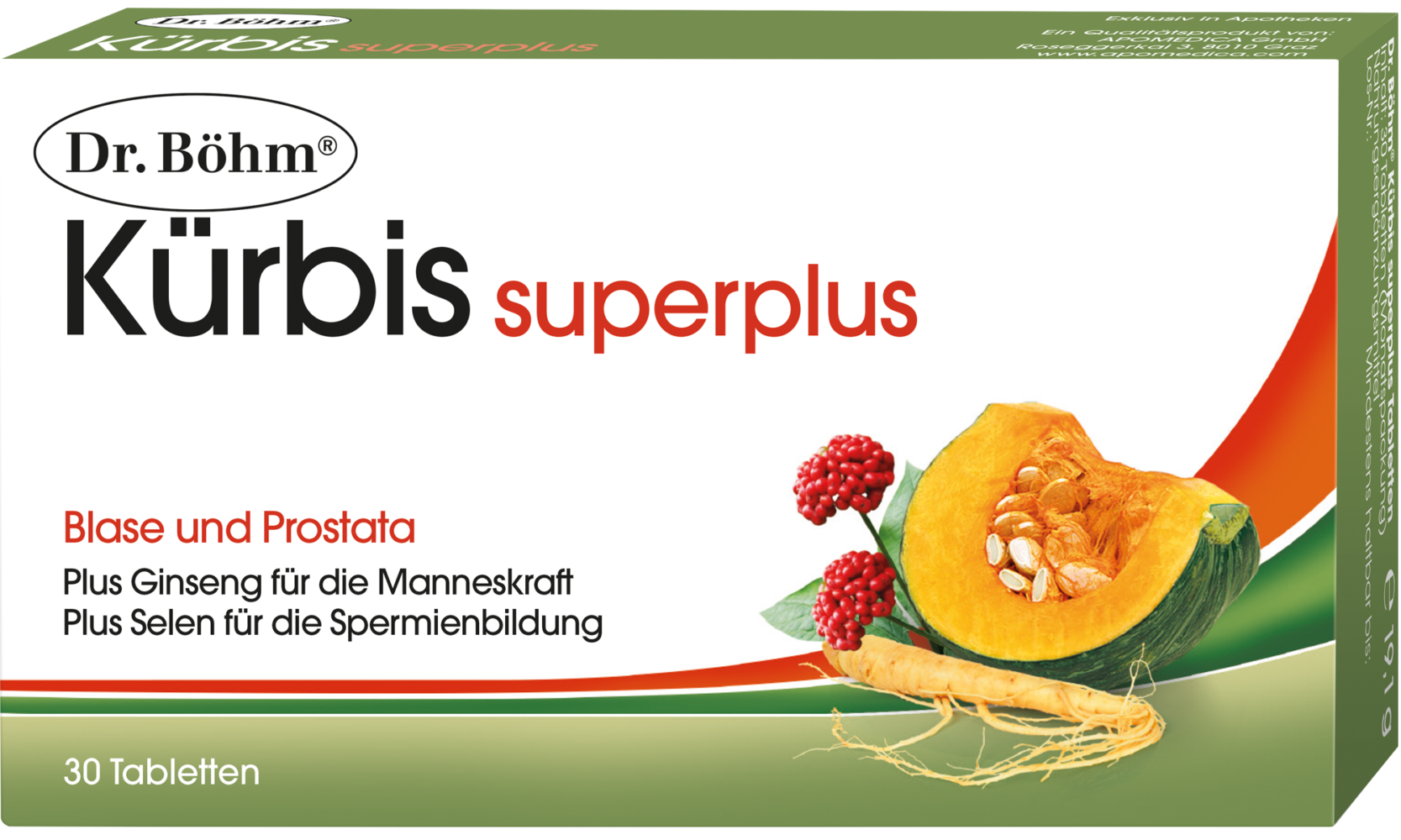 Dr. Böhm® Kürbis superplus Tabletten