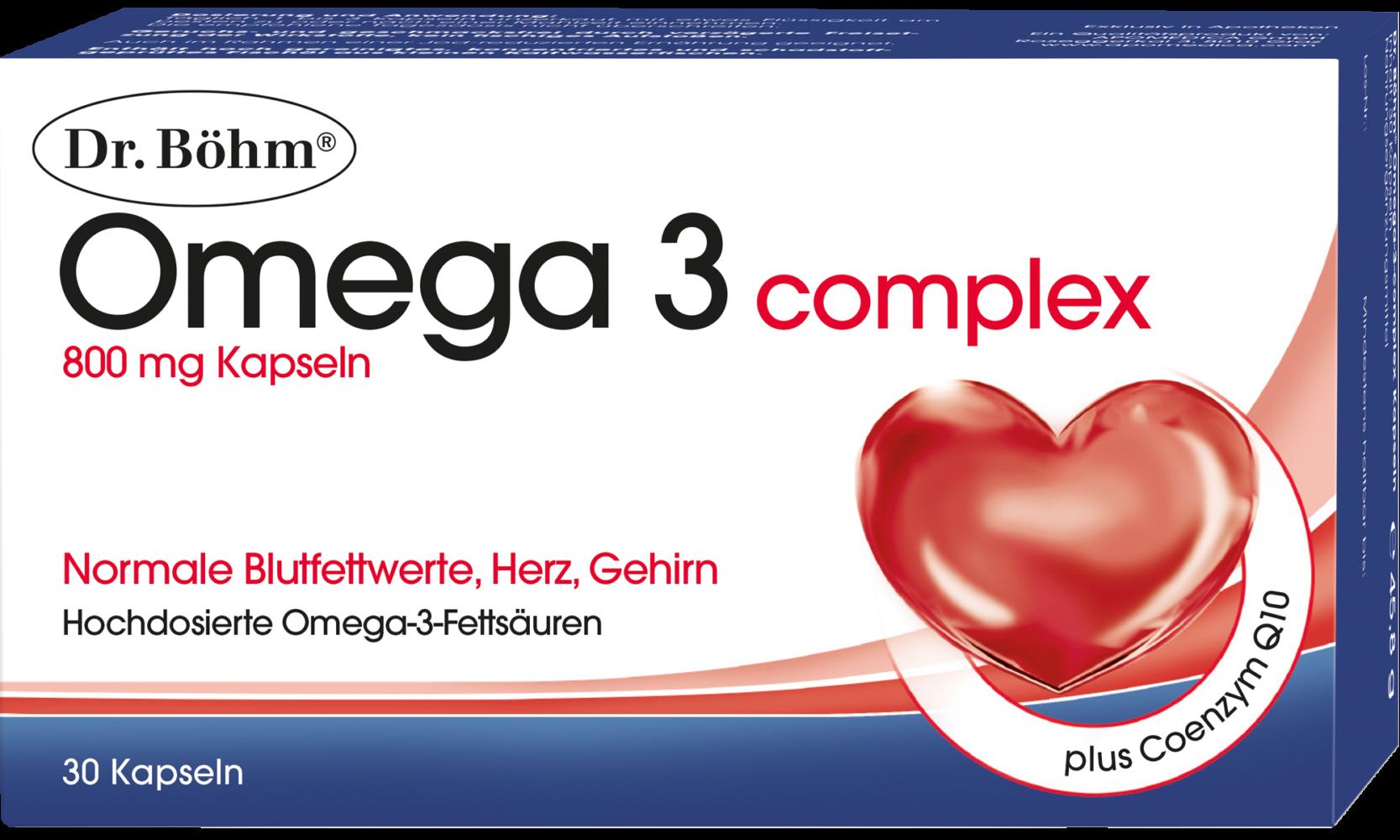 dr b hm omega 3 complex omega 3 fetts uren f r blutfettwerte herz gehirn dr b hm. Black Bedroom Furniture Sets. Home Design Ideas