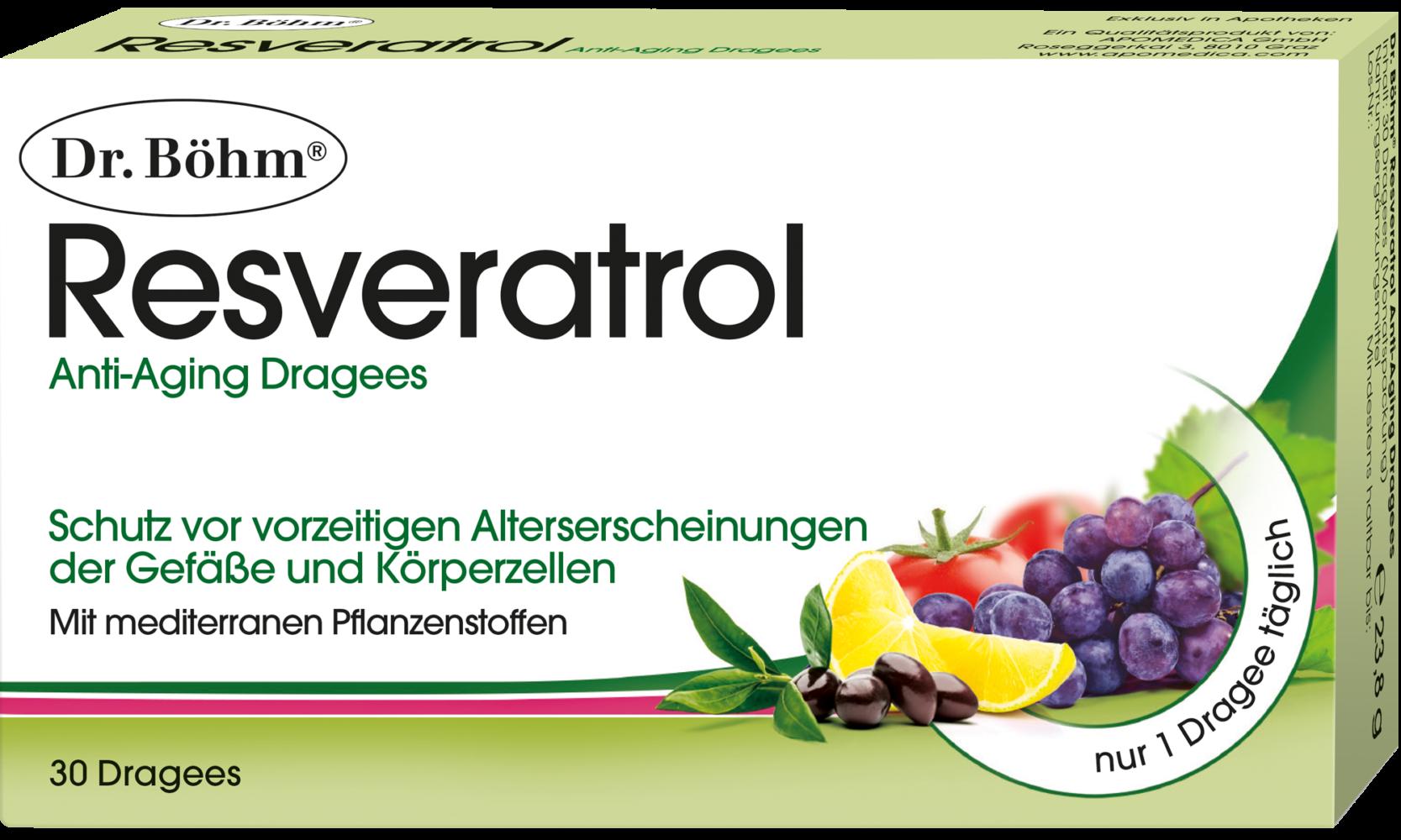 Dr. Böhm® Resveratrol Anti-Aging Dragees