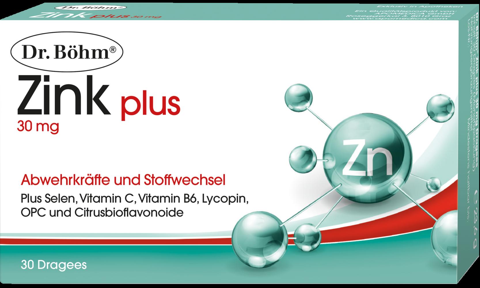 Dr. Böhm® Zink plus Dragees