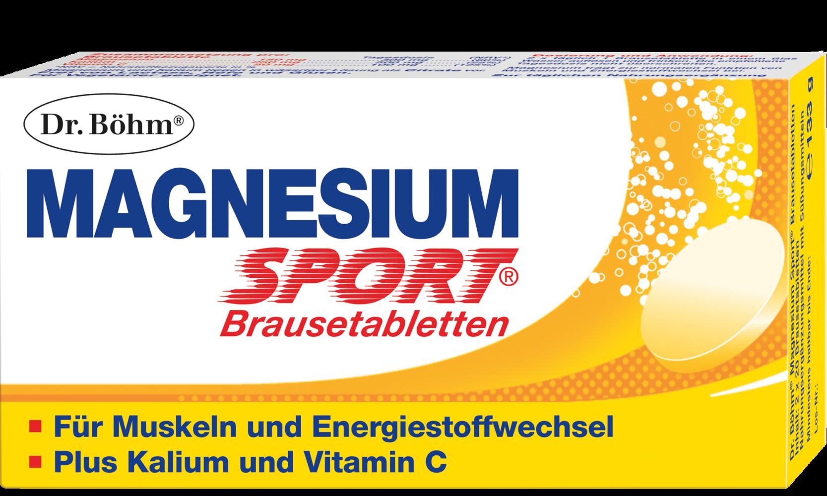 Magnesium Für Sportler