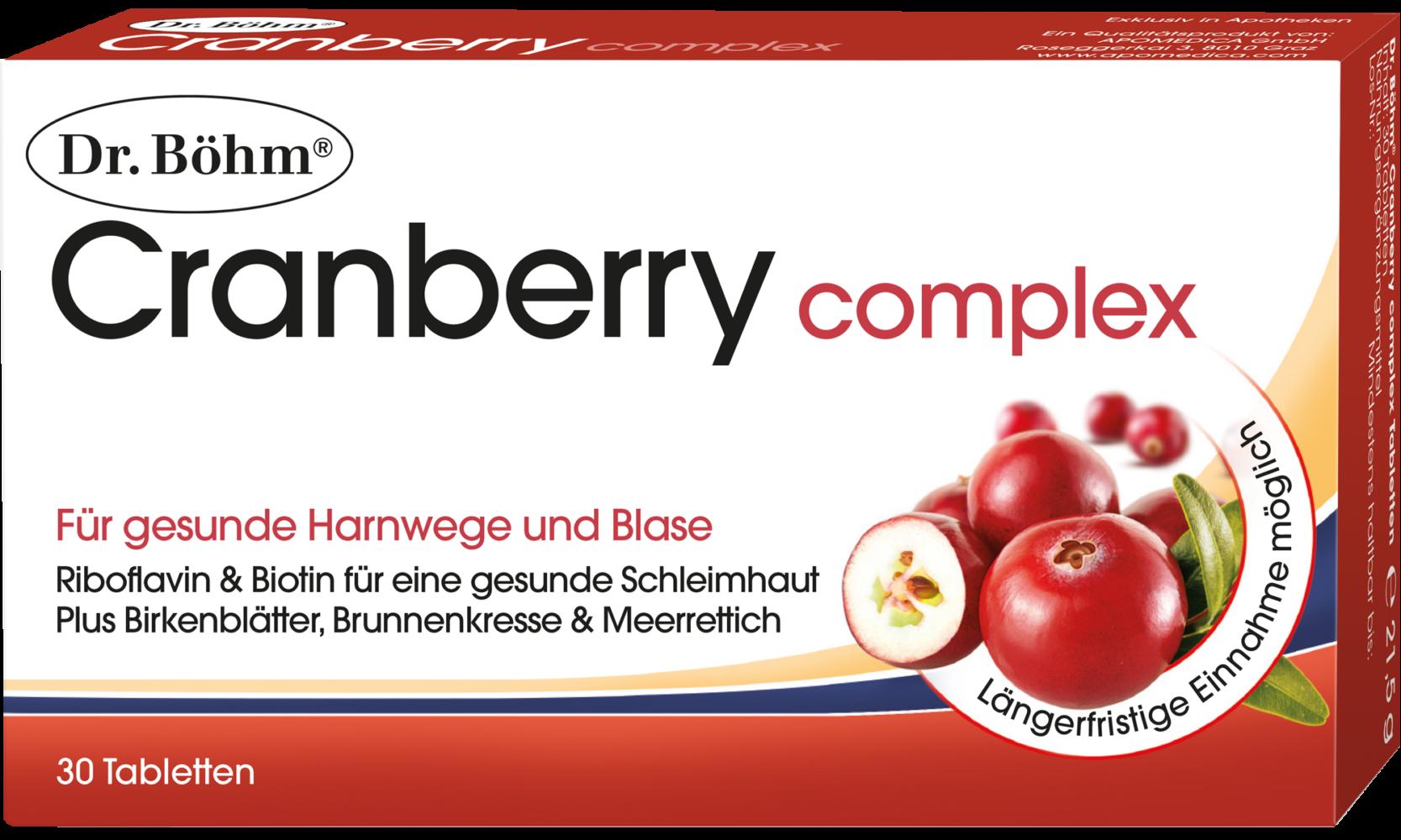 Dr. Böhm® Cranberry complex Tabletten
