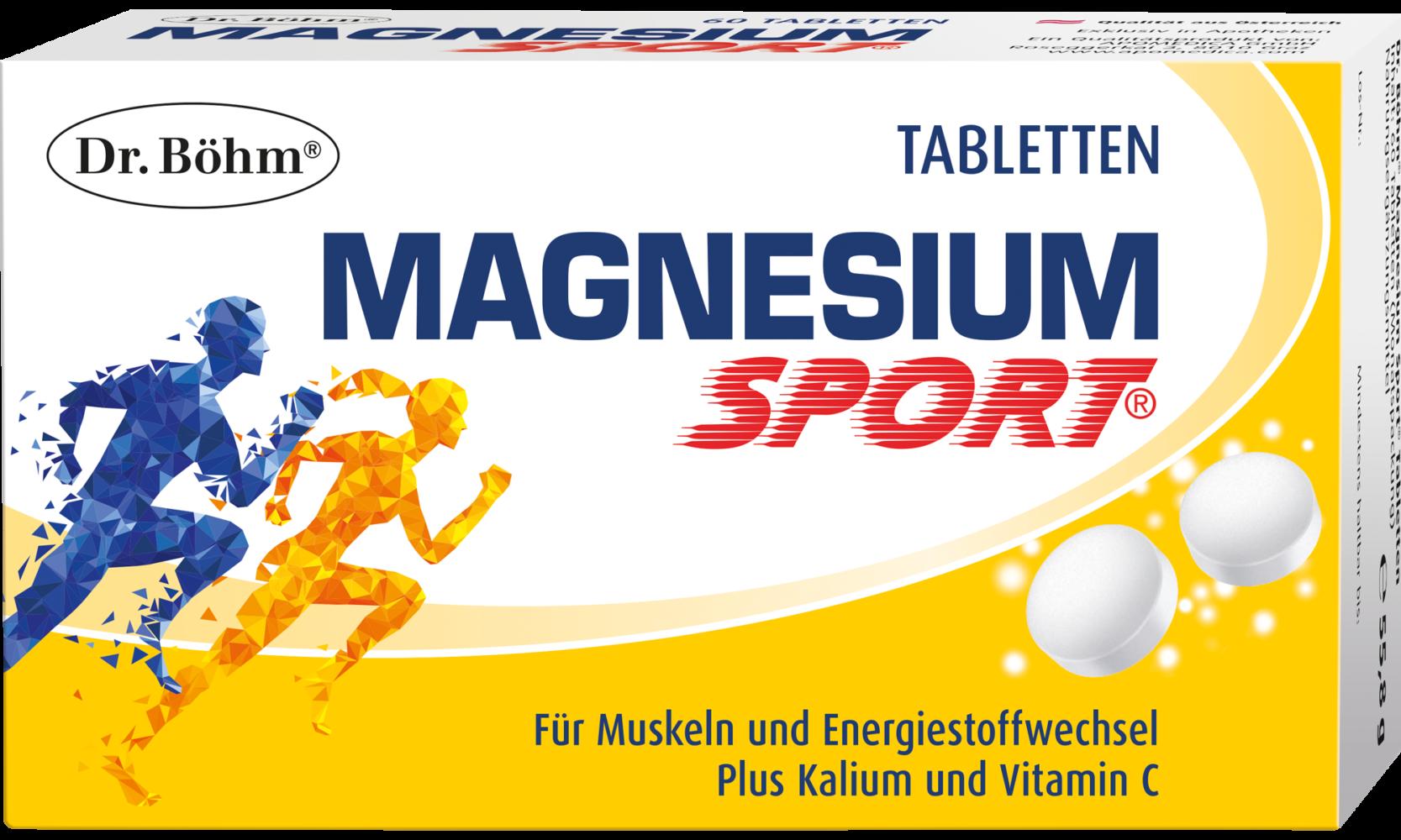 Dr. Böhm® Magnesium Sport® Tabletten