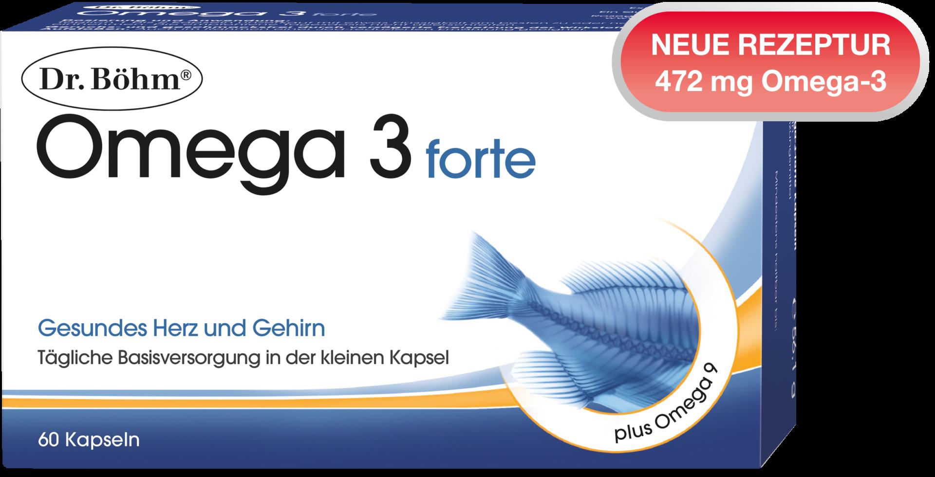 Dr. Böhm® Omega 3 forte Kapseln