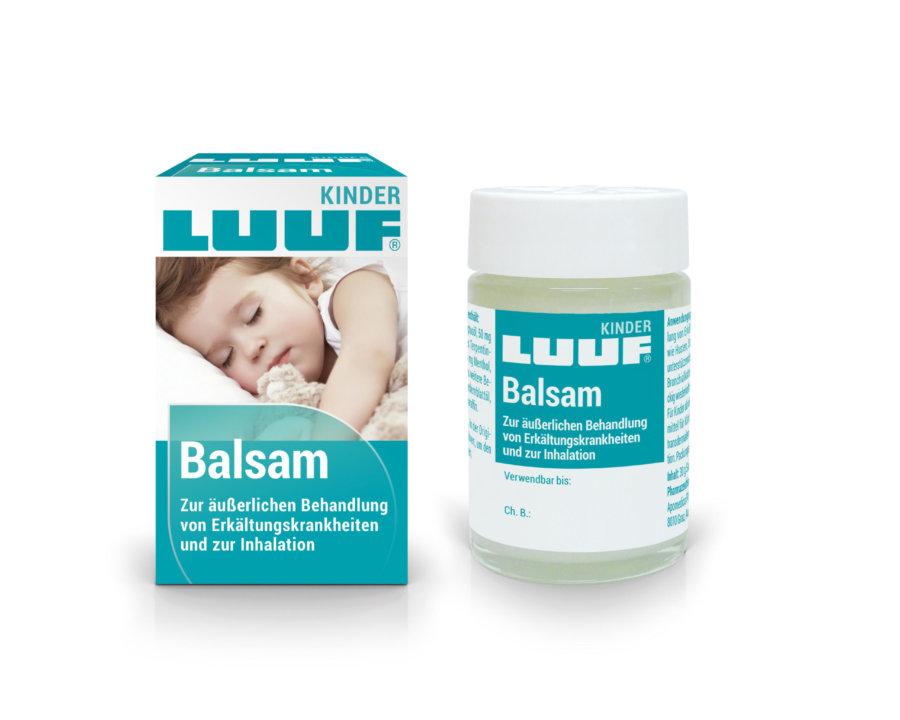 LUUF® Kinder Balsam zur äußerlichen Behandlung von Erkältungskrankheiten und zur Inhalation; Arzneimittel