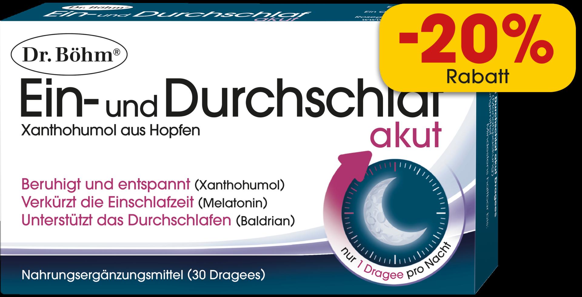 Dr. Böhm® Ein- und Durchschlaf akut Dragees