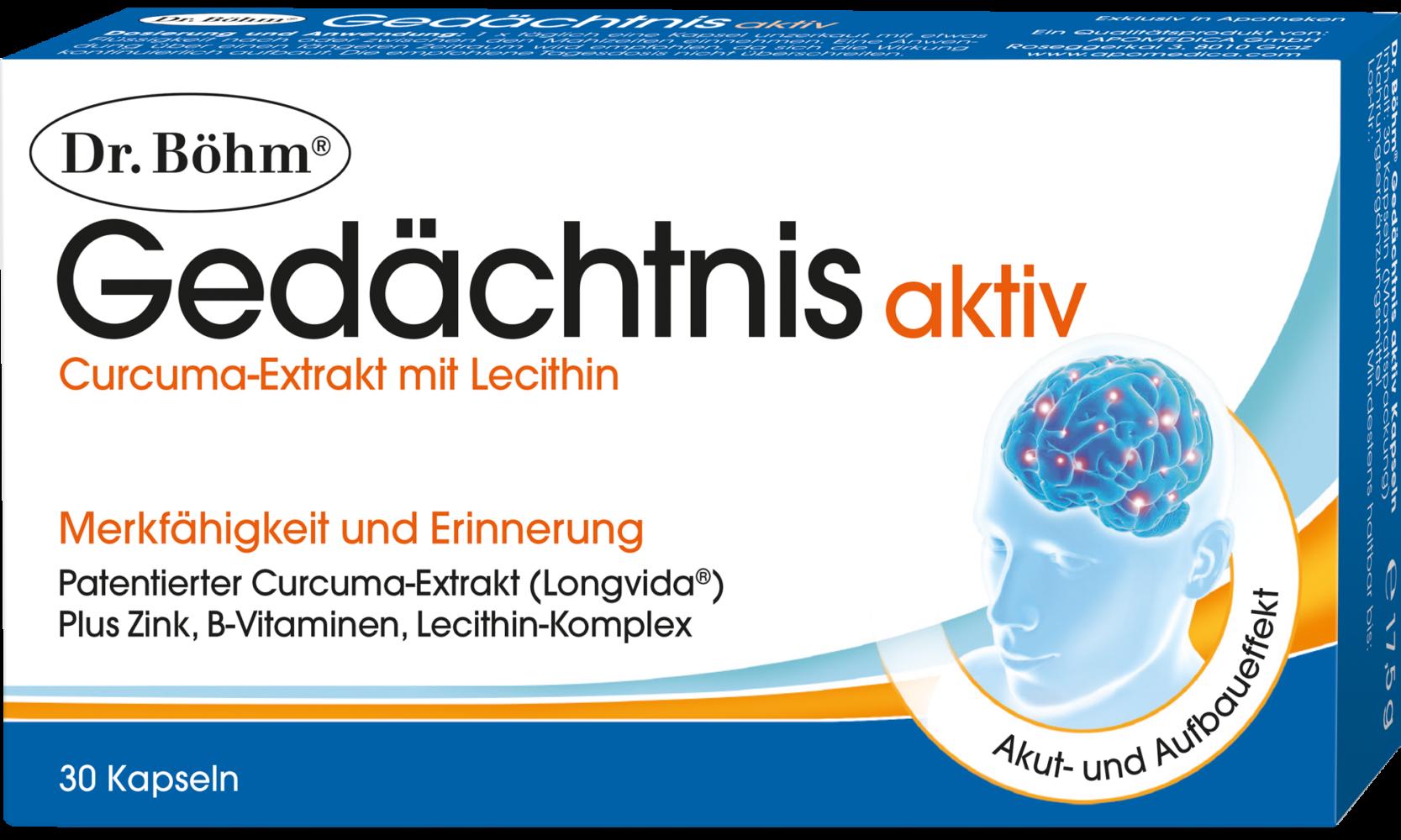 Dr. Böhm® Gedächtnis aktiv Kapseln