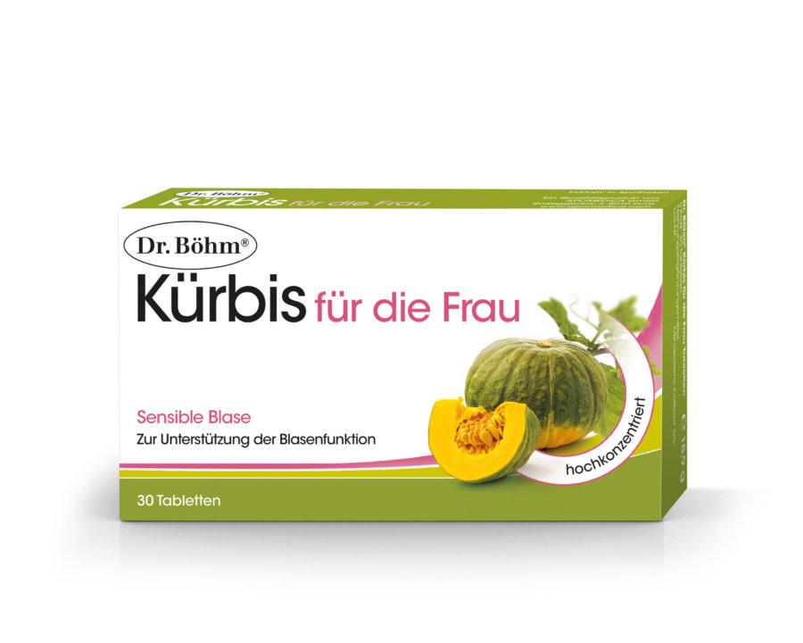 Dr. Böhm® Kürbis für die Frau Tabletten