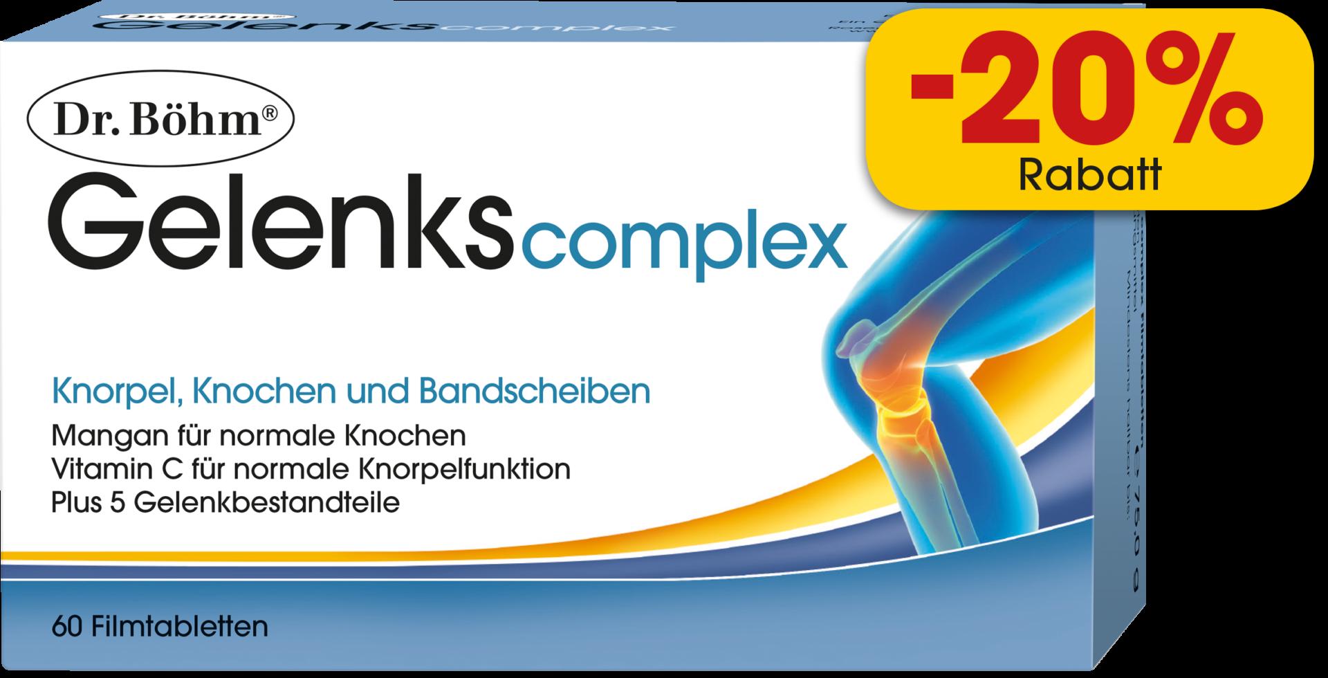 Dr. Böhm® Gelenks complex Filmtabletten