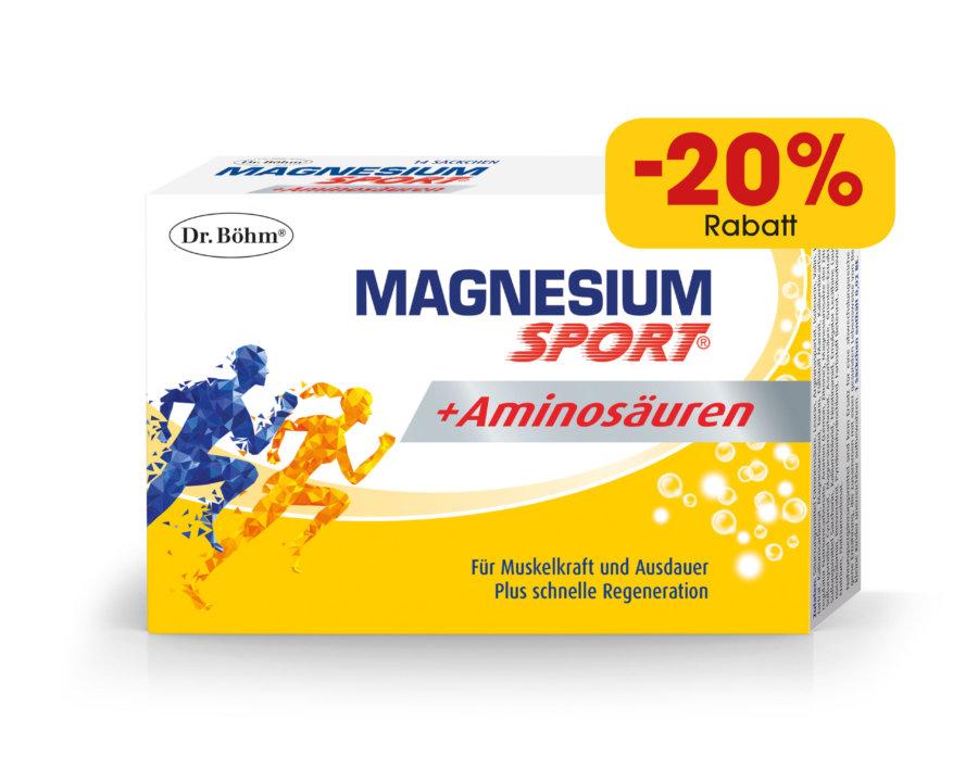 Dr. Böhm® Magnesium Sport® + Aminosäuren
