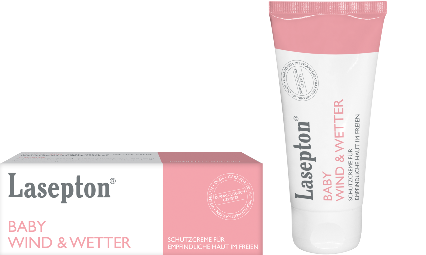 Lasepton® Baby Wind - & Wetter Creme; Schutzcreme für empfindliche Haut im Freien