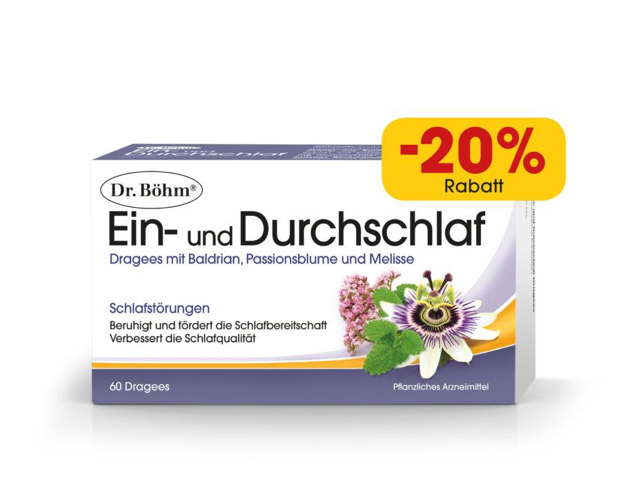 Dr. Böhm® Ein- und Durchschlaf Dragees