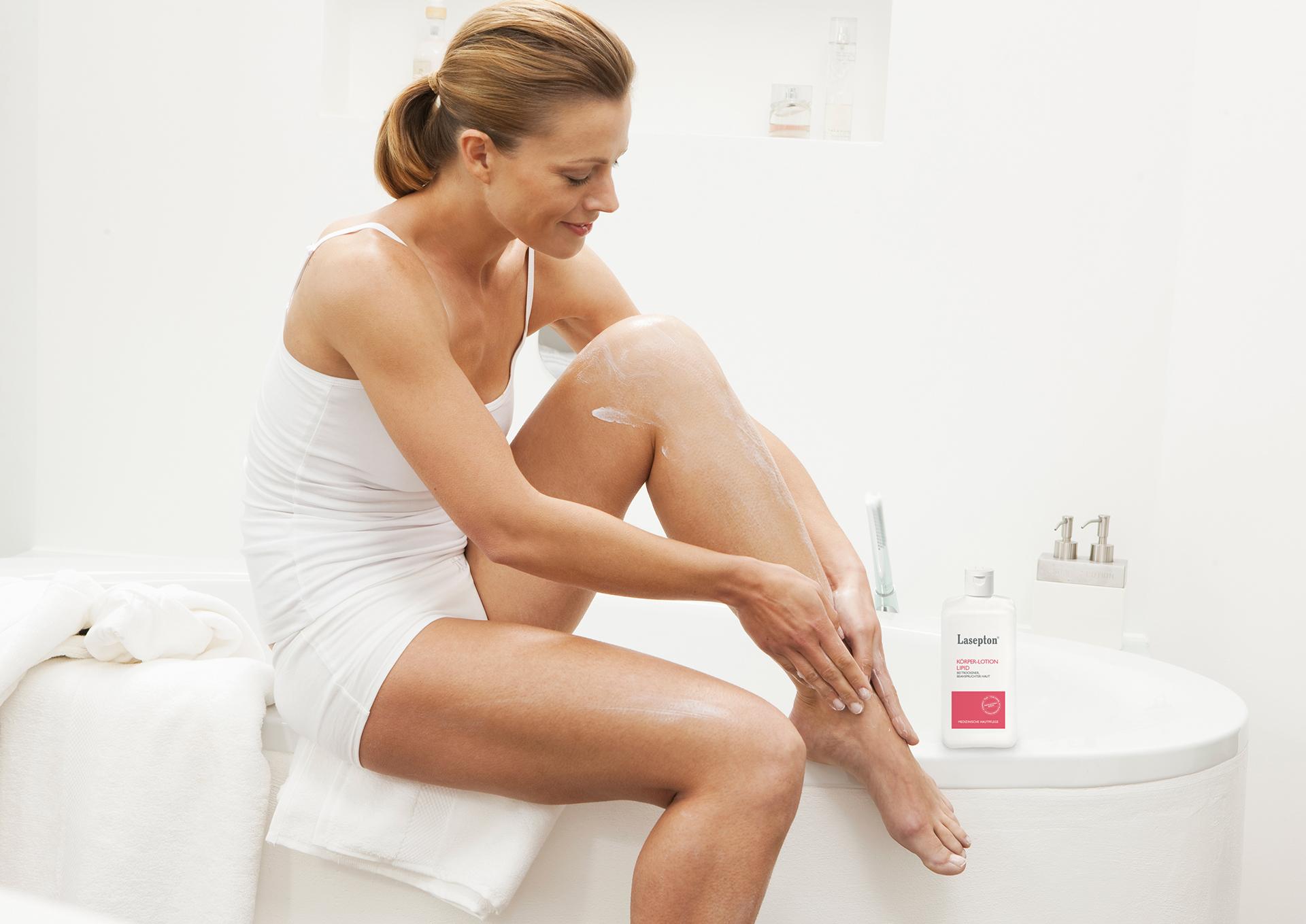 Lasepton® Körper Lotion-Lipid pflegt sehr trockene und raue Haut