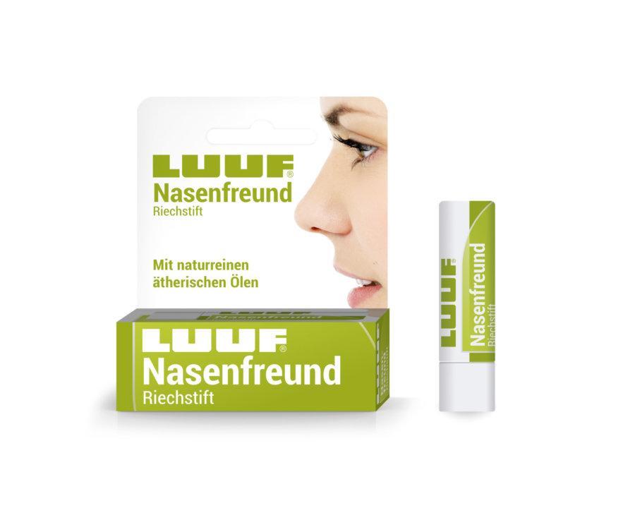 Luuf® Nasenfreund Riechstift mit naturreinen ätherischen Ölen