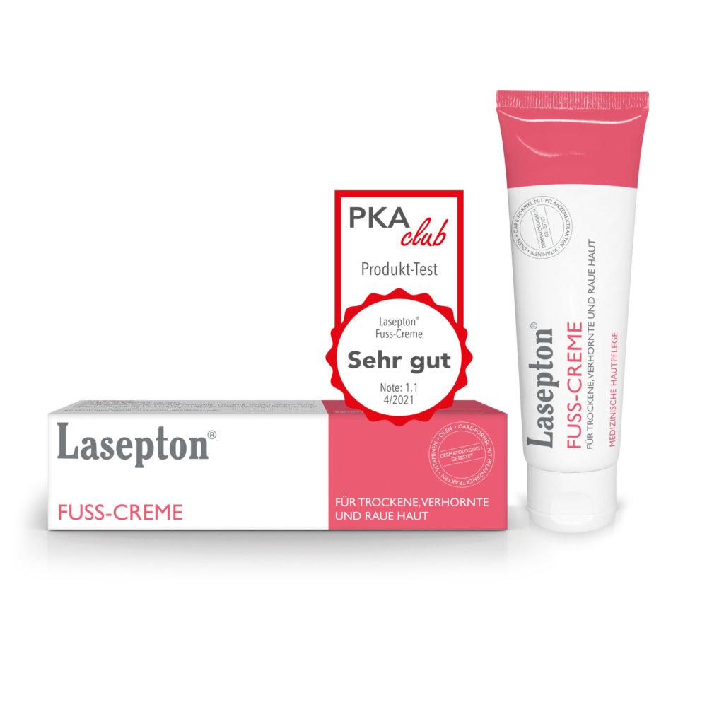 Bestnote für Lasepton® Fuss-Creme!