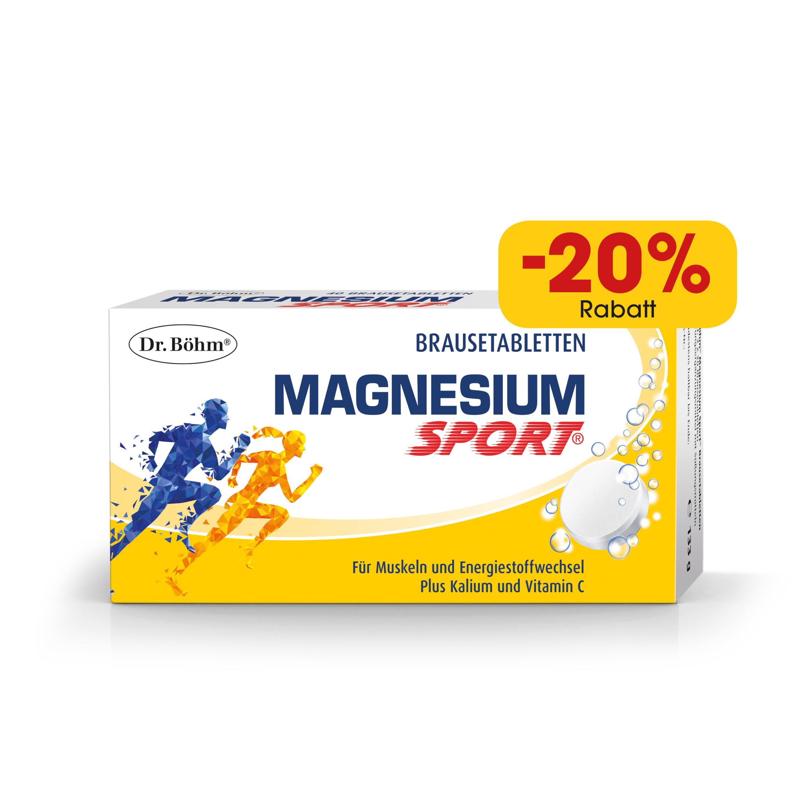 Dr. Böhm® Magnesium Sport® Brausetabletten