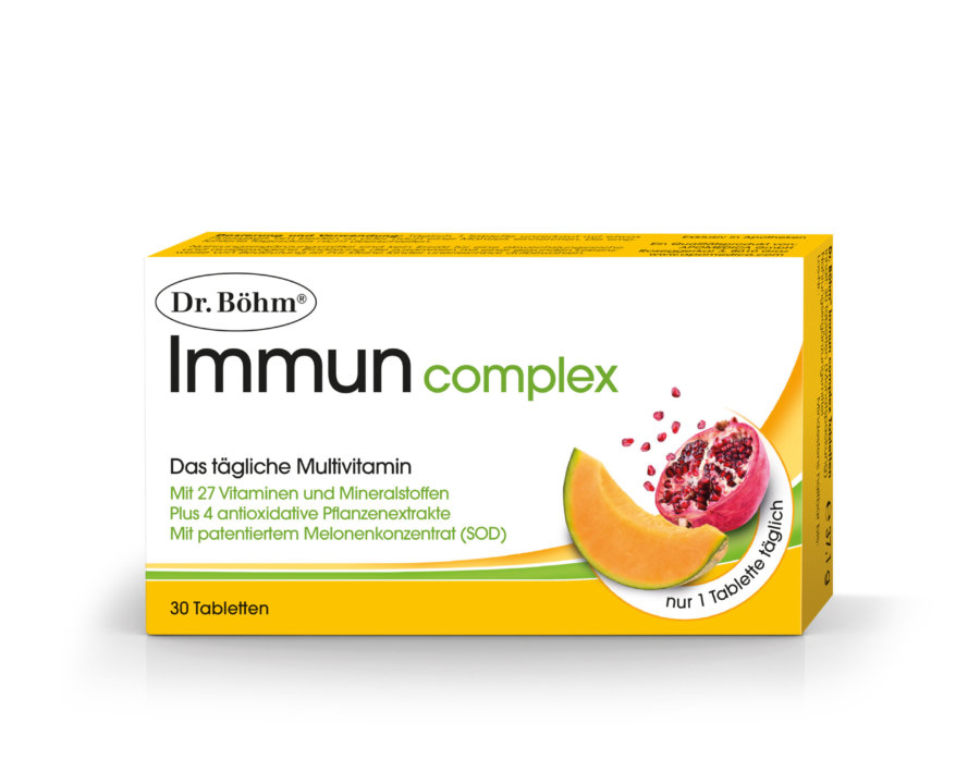 Dr. Böhm® Immun complex Tabletten - das tägliche Multvitamin